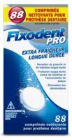 Fixodent Pro Comprimés Nettoyant Fraîcheur Longue Durée Pour Prothèse Dentaire B/88 à BIAS
