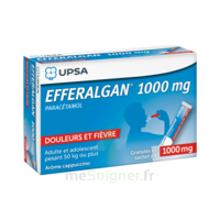 Efferalgan 1g Cappuccino Granules 8 Sachets à BIAS