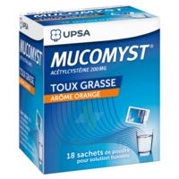 Mucomyst 200 Mg Poudre Pour Solution Buvable En Sachet B/18 à BIAS