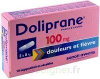 Doliprane 100 Mg Suppositoires Sécables 2plq/5 (10) à BIAS