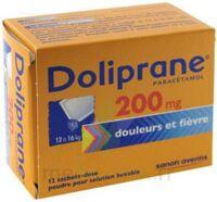 Doliprane 200 Mg Poudre Pour Solution Buvable En Sachet-dose B/12 à BIAS