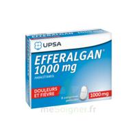Efferalgan 1000 Mg Comprimés Pelliculés Plq/8 à BIAS