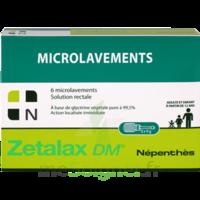 Zétalax Dm Gel Rectal Microlavement B/6 à BIAS