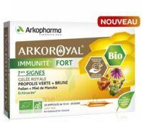 Arkoroyal Immunité Fort Solution Buvable 20 Ampoules/10ml à BIAS