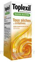 Toplexil 0,33 Mg/ml Sans Sucre Solution Buvable 150ml à BIAS