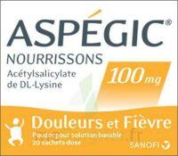 Aspegic Nourrissons 100 Mg, Poudre Pour Solution Buvable En Sachet-dose à BIAS