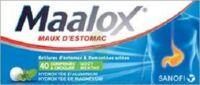 Maalox Hydroxyde D'aluminium/hydroxyde De Magnesium 400 Mg/400 Mg Cpr à Croquer Maux D'estomac Plq/40 à BIAS
