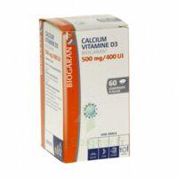 Calcium Vitamine D3 Biogaran 500 Mg/400 Ui, Comprimé à Sucer à BIAS
