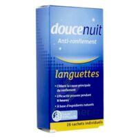 Doucenuit Antironflement Languettes, Sachet 28 à BIAS