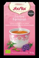 Yogi Tea Tisane Ayurvédique Equilibre Féminin Bio 17 Sachets/1,8g à BIAS