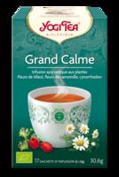 Yogi Tea Tisane Ayurvédique Grand Calme Bio 17 Sachets/1,8g à BIAS