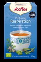 Yogi Tea Tisane Ayurvédique Profonde Respiration Bio 17 Sachets/1,8g à BIAS