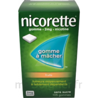 Nicorette 2 Mg Gomme à Mâcher Médicamenteuse Sans Sucre Fruits Plq/30 à BIAS