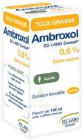 Ambroxol Eg Labo Conseil 0,6 %, Solution Buvable à BIAS