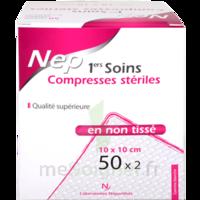 Nepenthes Premiers Soins Compresse Stérile Non Tissée 10x10cm 50sachx2     à BIAS