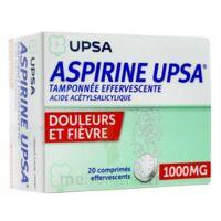 Aspirine Upsa Tamponnee Effervescente 1000 Mg, Comprimé Effervescent à BIAS