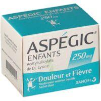 Aspegic Enfants 250, Poudre Pour Solution Buvable En Sachet-dose à BIAS