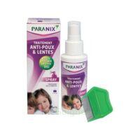 Paranix Solution Antipoux Huiles Essentielles 100ml+peigne à BIAS
