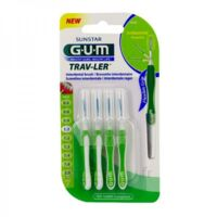Gum Trav - Ler, 1,1 Mm, Manche Vert , Blister 4 à BIAS