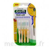 Gum Trav - Ler, 1,3 Mm, Manche Jaune , Blister 4 à BIAS