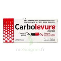 Carbolevure Gélules Adulte Plq/30 à BIAS