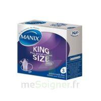 Manix King Size Préservatif Avec Réservoir Lubrifié Confort B/3 à BIAS