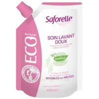 Saforelle Solution Soin Lavant Doux Eco-recharge/400ml à BIAS