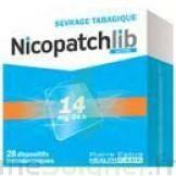 Nicopatchlib 14 Mg/24 H Dispositifs Transdermiques B/28 à BIAS