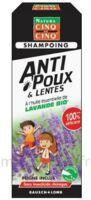 Cinq Sur Cinq Natura Shampooing Anti-poux Lentes Lavande 100ml à BIAS