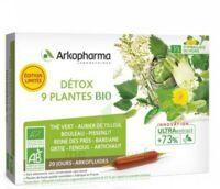 Arkofluide Bio Ultraextract Solution Buvable Détox 9 Plantes 20 Ampoules/10ml à BIAS