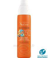 Avène Eau Thermale Solaire Spray Enfant 50+ 200ml à BIAS