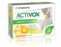 Activox Sans Sucre Pastilles Miel Citron B/24 à BIAS