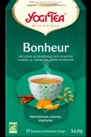 Yogi Tea Tisane Ayurvédique Bonheur Bio 17 Sachets/1,8g à BIAS